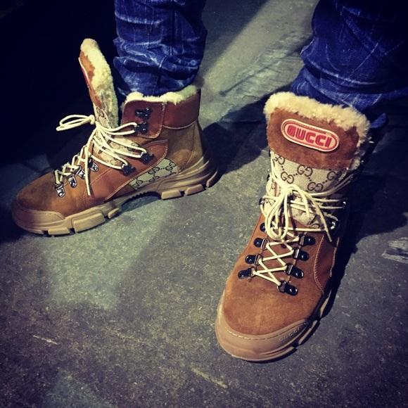 Gucci Shoes | Gucci Flashtrek Shearling